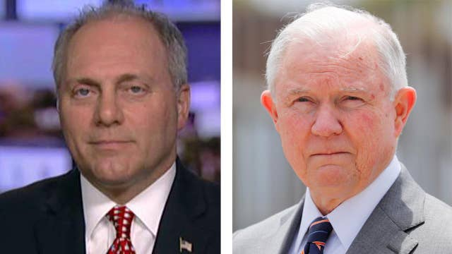 Scalise turns up the heat on Attorney General Jeff Sessions