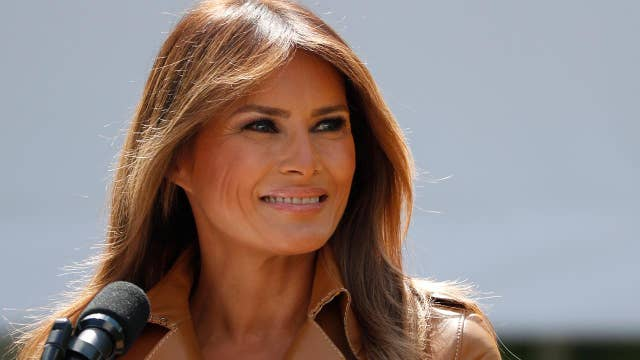 First lady sees surge in popularity numbers