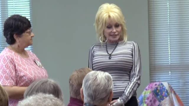 Dolly Parton surprises fans at senior home