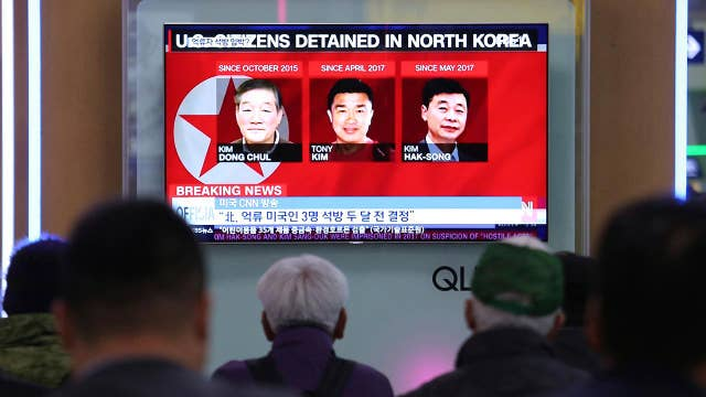 Release of US detainees clears path for Trump-Kim summit