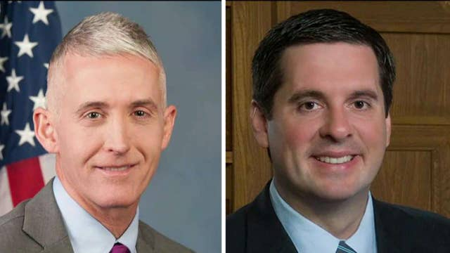 Nunes, Gowdy invited to Justice Department on Thursday