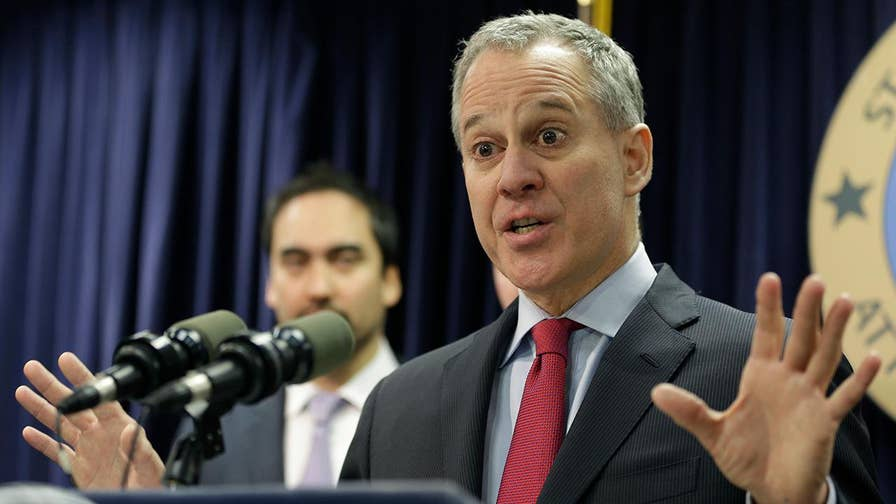 Critics wonder what New York Gov. Andrew Cuomo and other powerful Democrats and leaders of #MeToo movement may have known about Attorney General Eric Schneiderman before bombshell report about alleged violence against women, drug abuse led to his resignation. Tammy Bruce says if Hillary Clinton had won, alleged predators like Schneiderman would have been in power. #Tucker