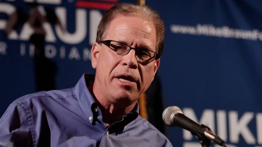 Businessman wins Indiana GOP Senate primary; Mike Tobin reports.