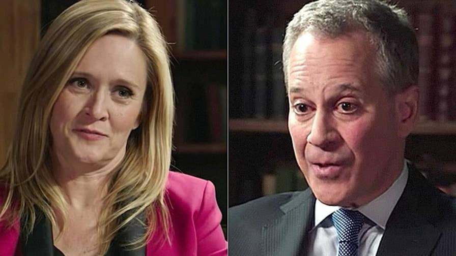 """Samantha Bee and her 'Full Frontal' team are attempting to change their stance after previously praising former New York Attorney General Eric Schneiderman as a """"superhero."""""""