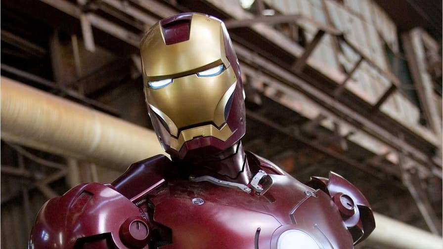 The costume worn by Robert Downey Jr. in the 2008 Marvel superhero movie, 'Iron Man,' has reportedly been stolen from a Los Angeles prop house.
