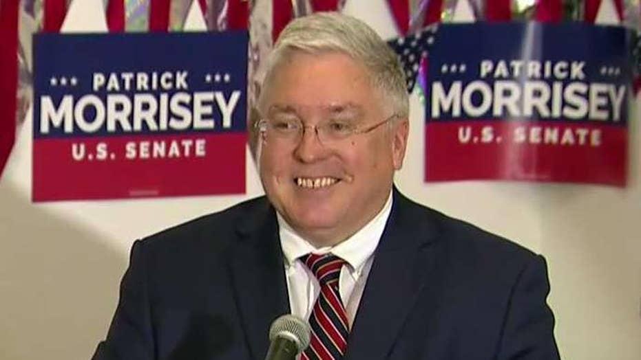 Morrisey pulls off upset in W Va  Senate primary, as