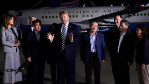 After being held in North Korea for over two and a half years, the Trump administration wins the release of three American detainees ahead of highly anticipated Trump-Kim summit; Greg Palkot reports.