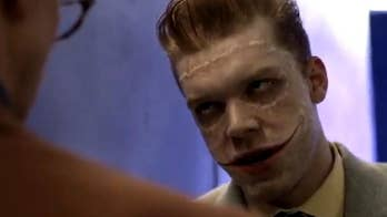 Monaghan stars as Jerome and Jeremiah, twin brothers of The Joker persona.