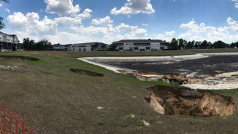 Sinkholes leave Florida neighborhood looking like cratered wasteland