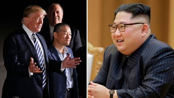President praises North Korean leader after release of three American detainees; chief White House correspondent John Roberts reports.