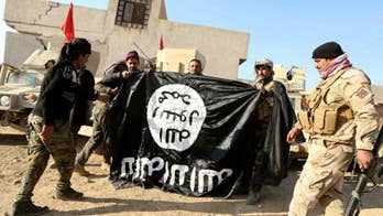 The Pentagon issued a statement congratulating the Iraqi government for capturing five ISIS leaders along the border with Syria; national security correspondent Jennifer Griffin reports.
