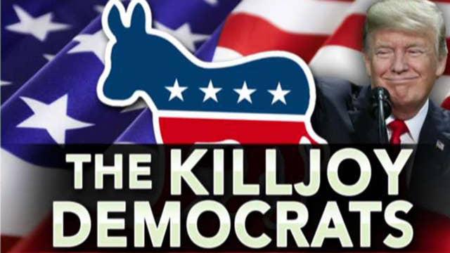 Ingraham: Killjoy Democrats versus an optimistic nation