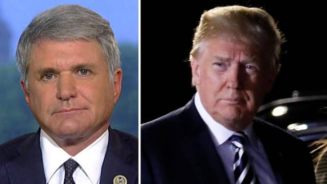 Rep. McCaul: Trump is negotiating out of strength