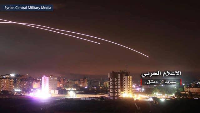 Israel conducts largest strike in Syria since Yom Kippur War