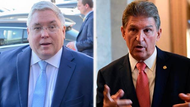 West Virginia GOP Senate candidate on incumbent Sen. Manchin