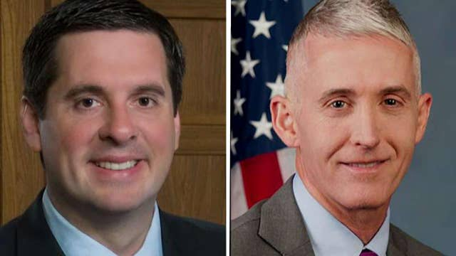 Nunes and Gowdy meet with Justice Department officials