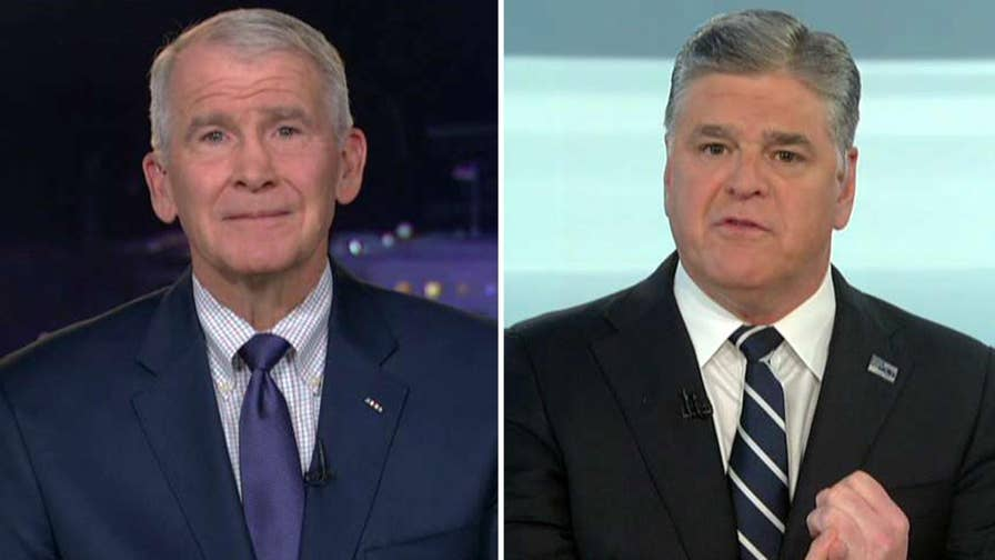 Israel Defense Forces say Iranian missiles were fired at Israel; Oliver North discusses Iran, North Korea and being named the new president of the NRA on 'Hannity.'