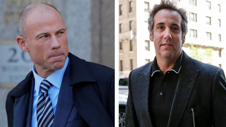 Michael Cohen's legal team says dossier released by Stormy Daniels' lawyer includes information about other people named Michael Cohen; reaction on 'The Ingraham Angle.'