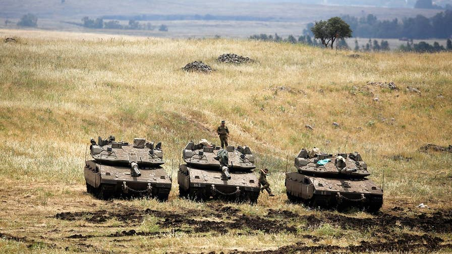 Israel launches massive air strikes against Iranian targets in Syria, the most military action taken by Israel since end of 1973 Yom Kippur War; David Lee Miller reports.