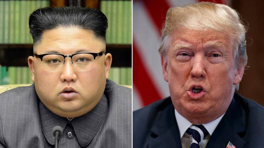 President Trump will meet with the North Korean leader in Singapore on June 12; chief White House correspondent John Roberts reports.
