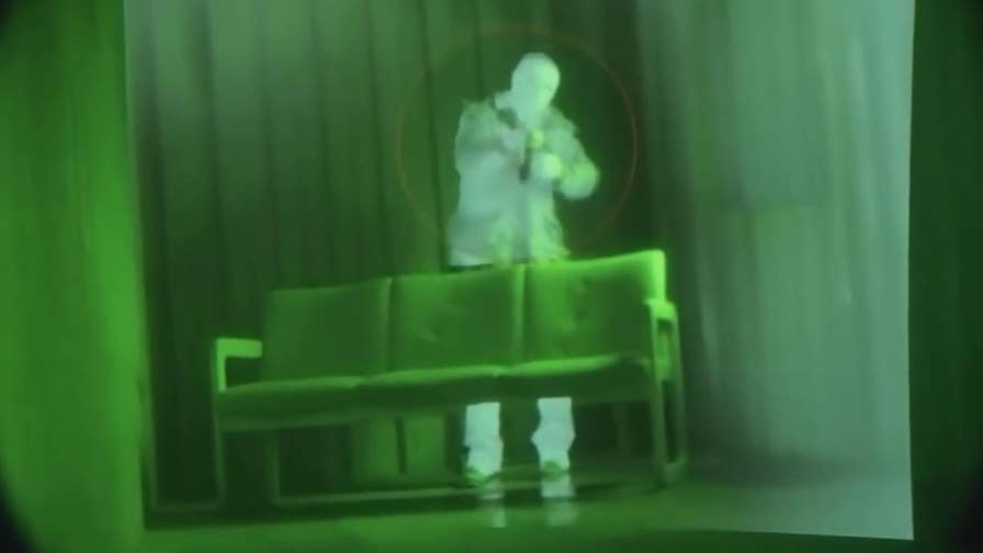 Allison Barrie has the latest look at new futuristic night vision technology that will allow soldiers to shoot around corners, see through dense vegetation and smoke, plus distinguish friend from foe.