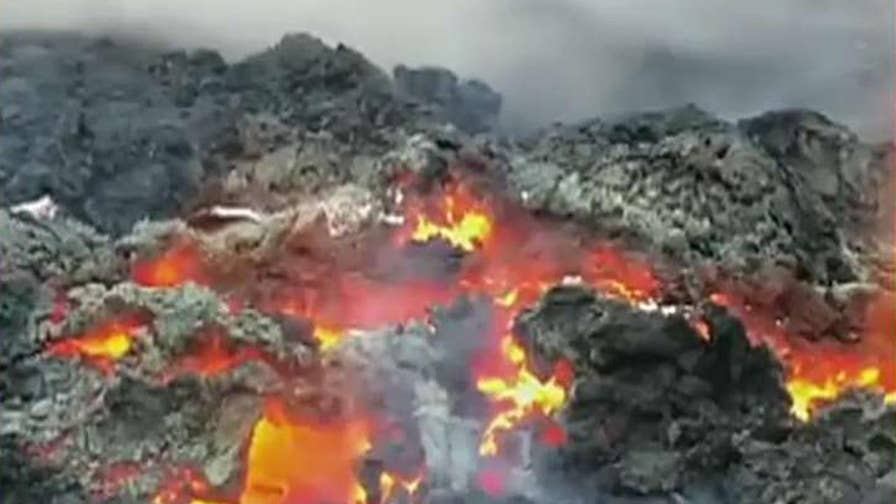 As lava level falls, geologists say the risk of a big blast at the Kilauea volcano will climb in the weeks ahead; Mika McKinnon, geophysicist and disaster researcher, explains.