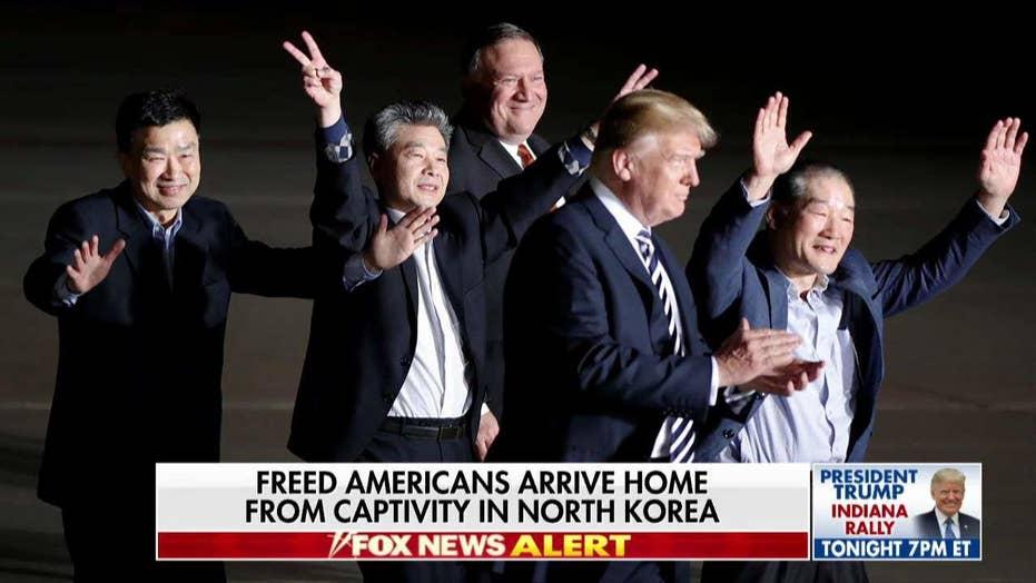 'God Bless America': Nauert Discusses Meeting Freed North Korean Prisoners