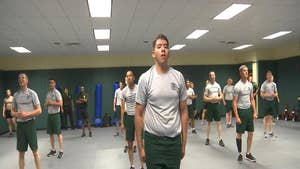 The Border Patrol Academy in Artesia, New Mexico has a new curriculum for recruits that emphasizes hands on training and learning the Spanish language