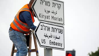 Relocation of the U.S. embassy from Tel Aviv to Jerusalem is highly contested with Iran who is already bitter about President Trump's decision to pull out of the JCPOA; Doug McKelway reports.