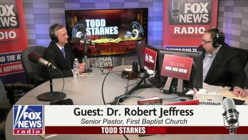 Dr. Robert Jeffress joined he Todd Starnes Show to discuss the new US embassy and President Donald Trump's time in office.