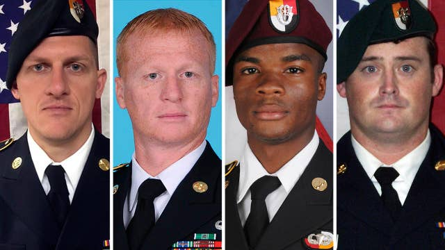 Pentagon releases report on 4 Americans killed in Niger