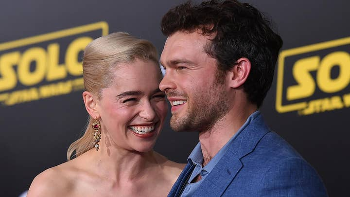 Catching up with 'Solo' stars the red carpet