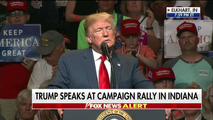 Trump Blasts Joe Donnelly at Indiana Rally