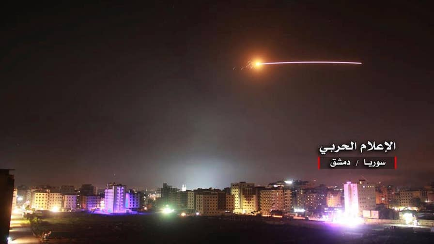 Israel launches operation on Iranian targets in Syria. Benjamin Hall reports.