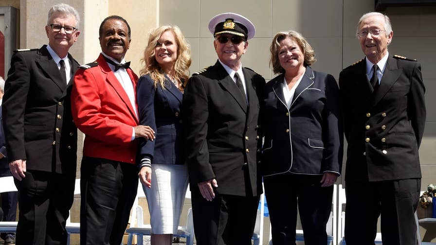 More than 40 years after the show first aired, the original cast of the beloved 1970s TV series 'The Love Boat' reunited on the 'Today' show. The cast had just received an honorary star on the Hollywood Walk of Fame in partnership with Princess Cruises.