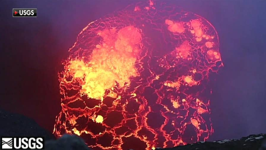 Scientists warn of once-in-a-century eruption from Hawaii's Kilauea volcano, stating it could explode within a week; Jonathan Hunt has the latest.
