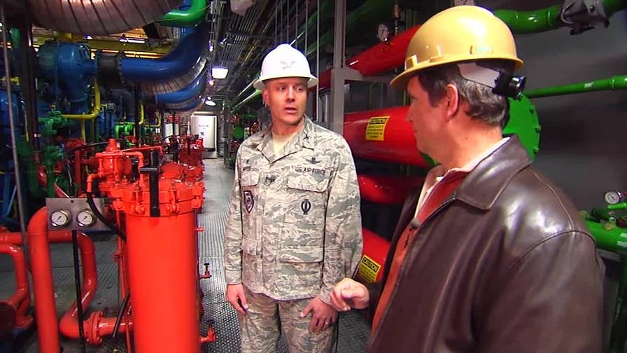 'America's Fortress' in Colorado Springs is a bunker like no other. 721st Mission Support Group commander Col. Robert Moose gives Jon Scott a guided tour of Cheyenne Mountain Complex.