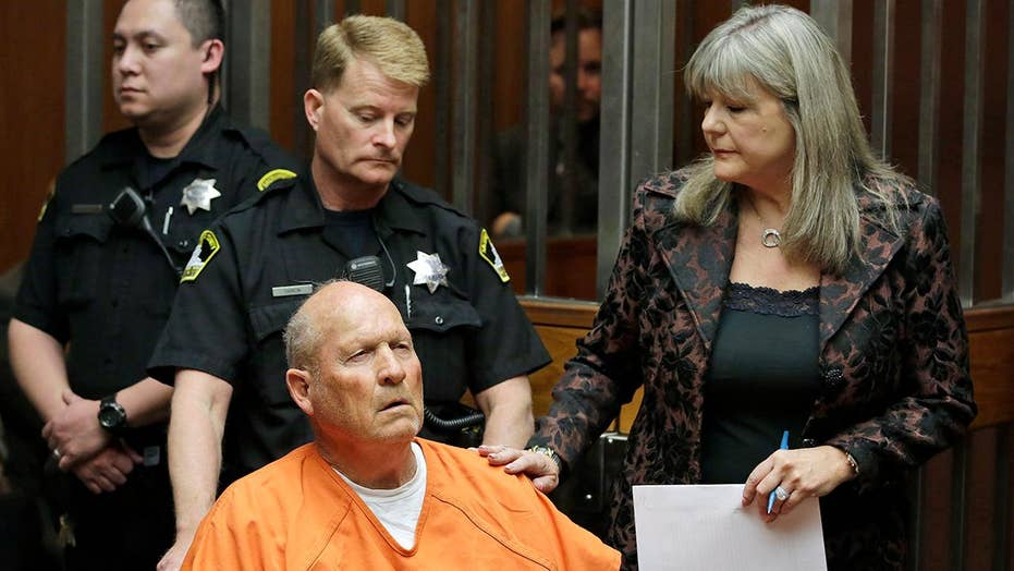 Accused 'Golden State Killer' charged with four more murders