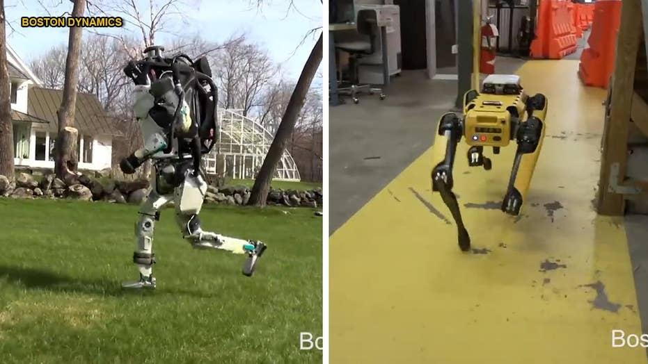 Boston Dynamics' terrifying robots can now run, jump, climb