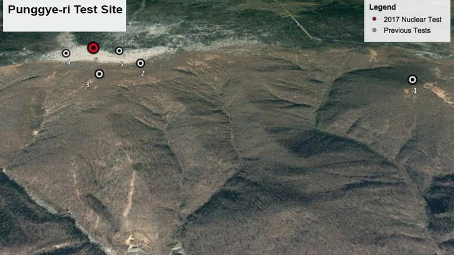 How North Korea's nuclear blast made a mountain collapse