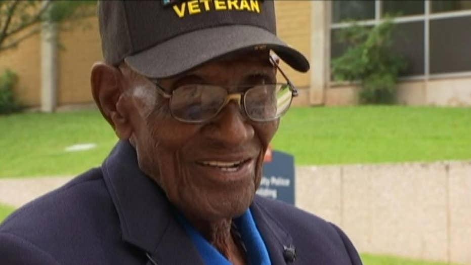 America's oldest veteran is now oldest man in America