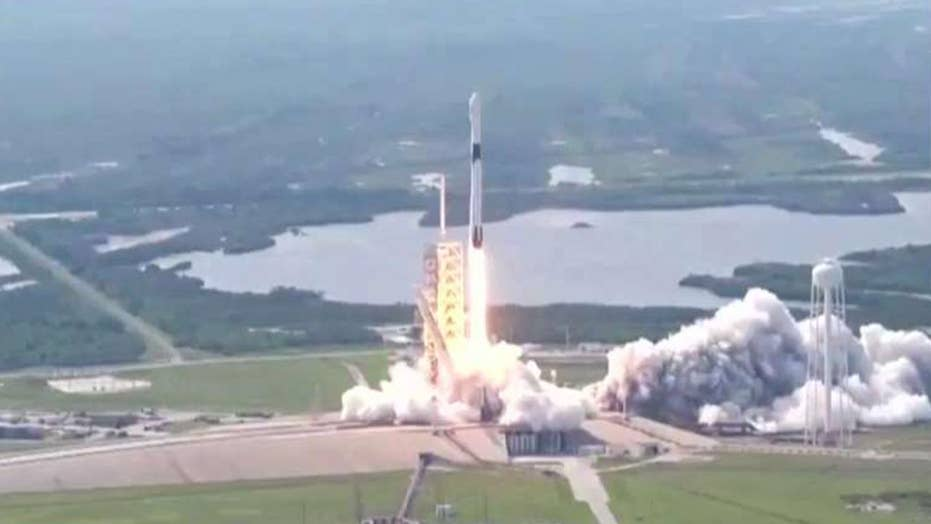 Bangabandhu 1 satellite launches aboard SpaceX Falcon 9