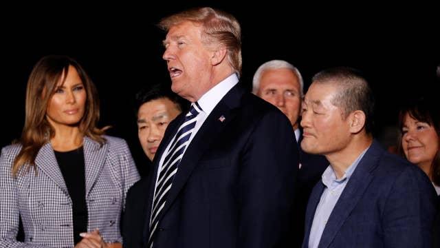 Media criticize Trump's handling of Americans' return
