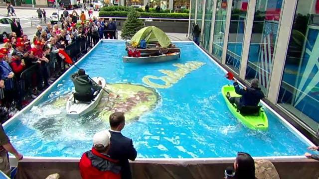Kayak racing: Pete Hegseth vs. Ed Henry