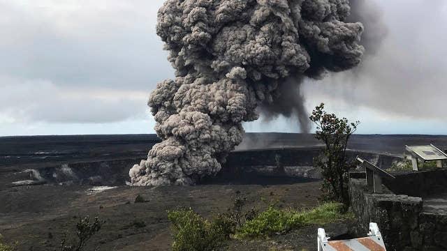 Scientists warn of stronger eruptions from Hawaii volcano