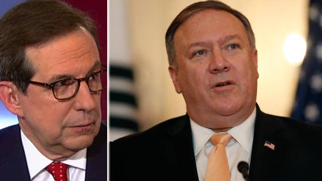 Chris Wallace talks upcoming interview with Pompeo