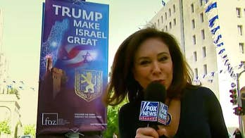 Judge Jeanine hit the streets of Israel to discuss the new embassy and President Trump for a very special edition of 'Street Justice.'