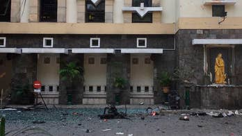 Suicide bombers targeted three christian churches.