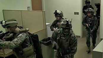 Todd Piro visits Quantico to learn how Marines train to defend United States embassies.
