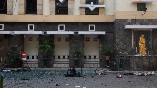 Eleven killed in Indonesia church bombings